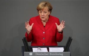 Angela Merkel fot.Michael Kappeler/EPA