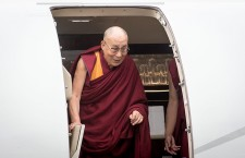 Dalai Lama visits Wroclaw