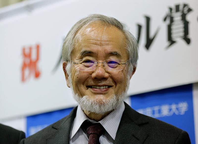 Yoshinori Ohsumi fot.Kimimasa Mayama/EPA