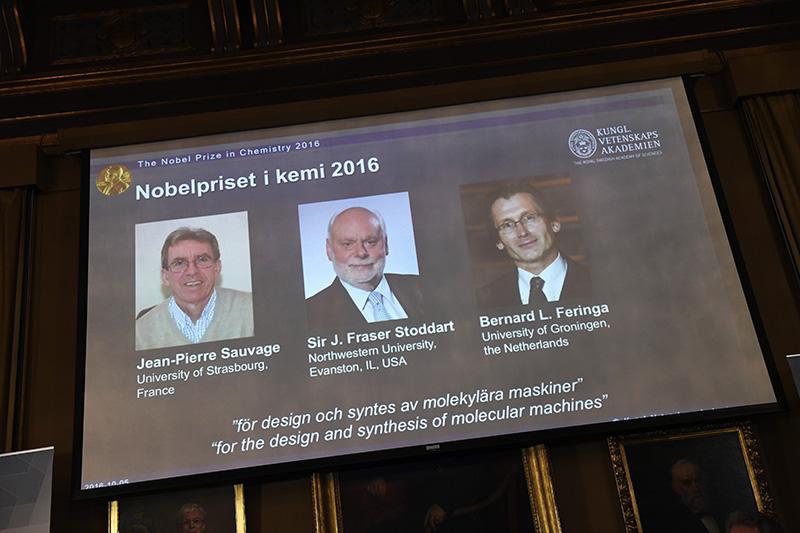 Nobel w dziedzinie chemii fot.Henrik Montgomery/EPA