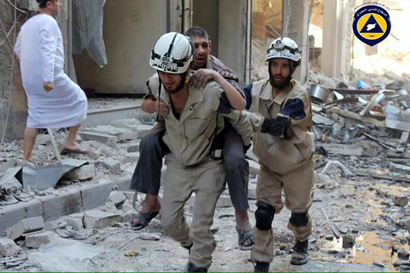 fot.Syria Civil Defence/Handout/EPA
