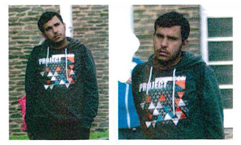 Podejrzany  Jaber Albakr fot.Polizei Sachsen/dpa/EPA