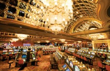 Trump Entertainment Resorts' Taj Mahal hotel and casino in Atlantic City