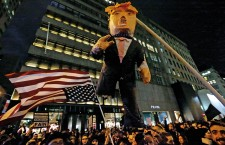 US Presidential Election Protest