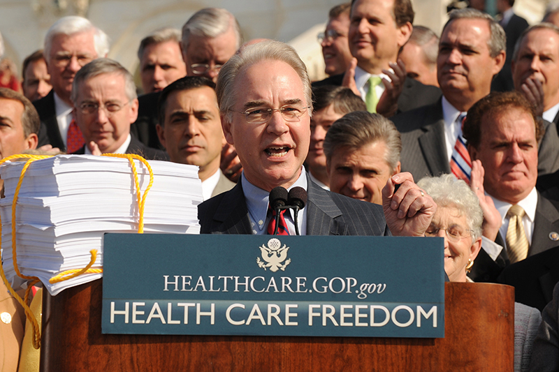 Tom Price fot.Michael Reynolds/EPA