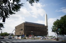 Construction continues on the National Museum of African American History and Culture