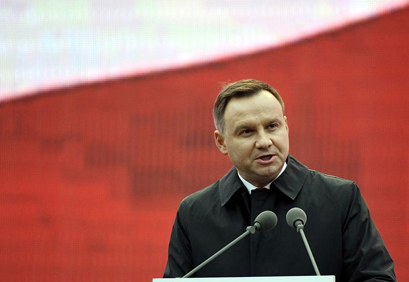 Andrzej Duda fot.Szilard Koszticsak/EPA