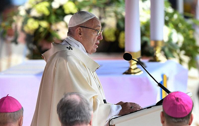 Papież Franciszek fot.Jonas Ekstroemer/EPA