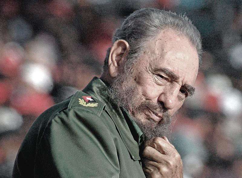 Fidel Castro fot.Alejandro Ernesto/EPA