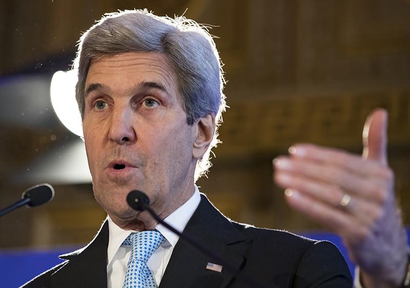 John Kerry fot.Ian Langsdon/EPA