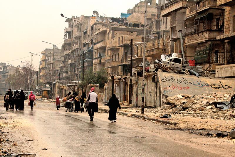 Aleppo fot.STR/EPA