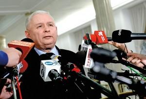 Jarosław Kaczyński fot.Marcin Obara/EPA