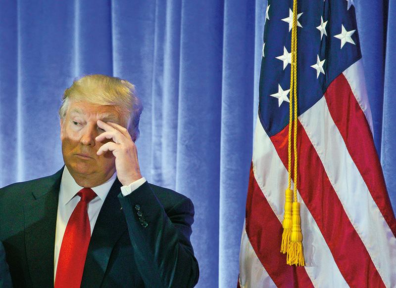 Donald Trump fot.Justin Lane/EPA