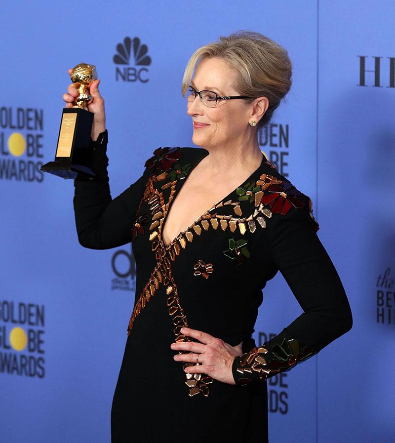 Meryl Streep fot.Mike Nelson/EPA