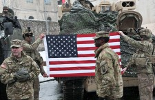 Official welcome event for US troops in Poland