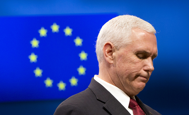 Mike Pence  fot.Virginia Mayo/Pool/EPA