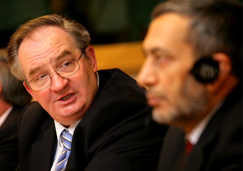 Jacek Saryusz-Wolski  fot.Olivier Hoslet/EPA