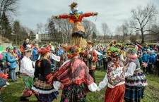 Traditional greeting of spring in Lublin