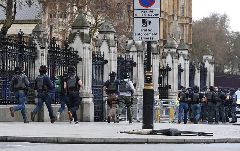 Londyn, 22 marca 2017  r. fot.  Andy Rain/EPA