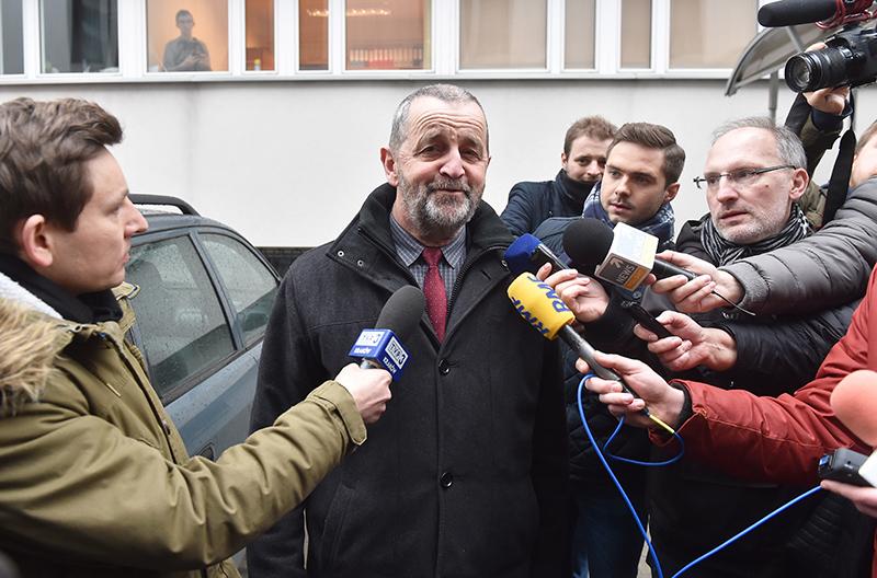 Mecenas Wladysław Pociej fot.Jacek Bednarczyk/EPA