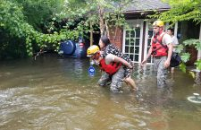 Texas National Guard Soldiers respond after Hurricane Harvey makes landfall in Texas