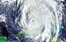 Hurricane Irma turns north into Florida, USA