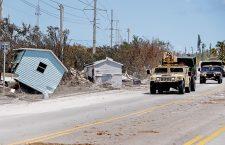 Hurricane Irma in the Florida Keys, Marathon, Florida, USA