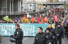 March against hate and racism in the German Bundestag