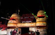 Star Wars: The Last Jedi world premiere red carpet in Los Angeles, USA - 09 Dec 2017