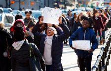 National School Walkout in New York, Brooklyn, USA - 14 Mar 2018