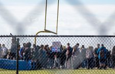 Marjory Stoneman Douglas high school walkout, Parkland, USA - 14 Mar 2018