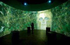 Gustav Klimt at Atelier des Lumieres in Paris, France - 11 Apr 2018