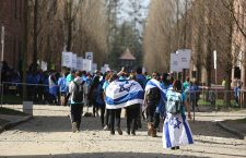 27th 'March of the Living', Oswiecim, Poland - 12 Apr 2018