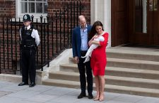 Duchess of Cambridge gives birth to baby boy, London, United Kingdom - 23 Apr 2018