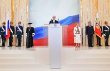 Inauguration ceremony for Russian President-elect Vladimir Putin, Moscow, Russian Federation - 07 May 2018