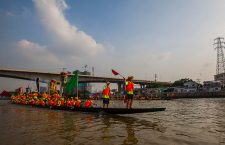 Dragon Boat races in Guangzhou, China - 18 Jun 2018