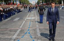 Traditional Bastille Day military parade on the Champs-Elysees avenue, Paris, France - 14 Jul 2018