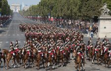 Traditional Bastille Day military parade in Paris, France - 14 Jul 2018