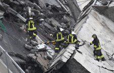 Bridge collapses on Genoa highway, Genoa, Italy - 14 Aug 2018