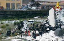 Bridge collapses on Genoa highway, Italy - 14 Aug 2018