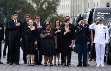 Senator John McCain leave US Capitol, Washington, USA - 01 Sep 2018