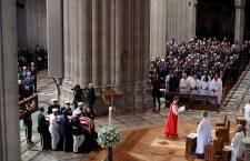 Memorial sevice for Senator John McCain at the Washington National Cathedral, USA - 01 Sep 2018