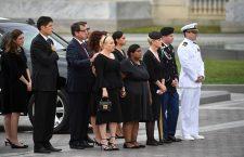 Memorial Service for Senator John McCain, Washington, USA - 01 Sep 2018