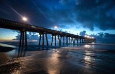 Hurricane Florence to strike East Coast of United States, Wrighstville Beach, USA - 12 Sep 2018