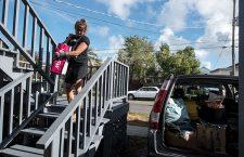 Preparations for Hurricane Florence, Wilmington, USA - 12 Sep 2018