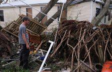 Florida after the arrival of Hurricane Michael, Panama City, Florida, USA - 11 Oct 2018