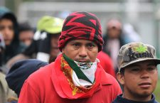 Second migrant caravan remains in Mexico City in the middle of a cold wave - 15 Nov 2018