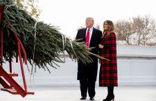 Official White House Christmas Tree presentation with US President Donald J. Trump and First Lady Melania Trump, Washington, USA - 19 Nov 2018