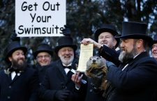 Punxsutawney Phil predicts the Weather on Groundhog Day, USA - 02 Feb 2019