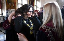 Aleksandra Dulkiewicz sworn in as mayor of Gdansk, Poland - 11 Mar 2019